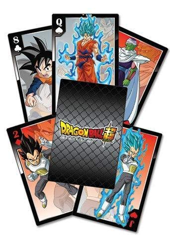 Dragon Ball Z Great Eastern Entertainment Dragon Ball Super Resurrection F Characters Playing Cards Original & offiziel Licensed