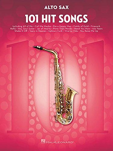 101 Hit Songs For Alto Saxophone (Instrumental Folio)