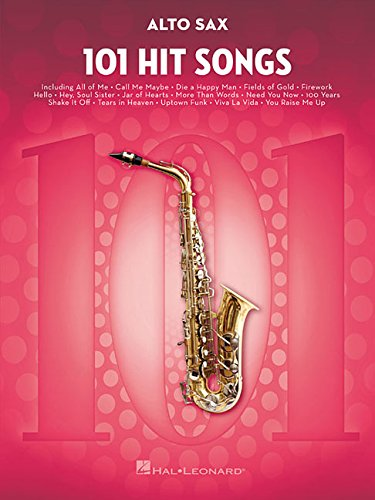 101 Hit Songs For Alto Saxophone (Instrumental Folio)