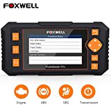 FOXWELL Scan Tool Obd2 Scanner Automotive Code Reader NT634 Diagnostic Tool for Engine Transmission ABS SRS with Oil EPB SAS TPMS DPF BRT CVT Throttle Body Reset Gear Learn Injector Odometer