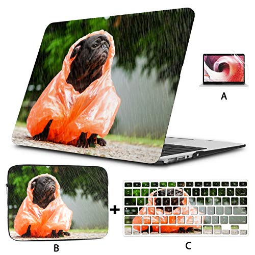 MacBook Case 16' Pro Touch Bar 2019 A2141,3D Rendering Abstract Fast Moving Stripe Plastic Hard Shell,Sleeve Bag,Keyboard Cover,Screen Protector,4 in 1 Laptop Case