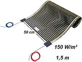 Potencia de Calefacci/ón de Suelo de 200 W//m/² Alfombra de Radiador de Doble Cable Confort T/érmico en su Hogar Area de 4,5m/² EXTHERM Soluciones de Energ/ía Renovable