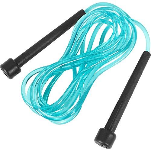 GORILLA SPORTS Springseil Speed Rope in versch. Farben und Längen Farbe Türkis