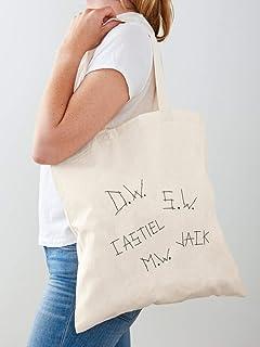 Tote Bag - Lavare a mano al rovescio - Stirare al rovescio o con un panno di cotone bianco da applicare sulla stampa. - La...