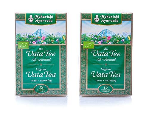 Maharishi Ayurveda Bio Vata Tee im Doppelpack 30 x 1,2g Beutel
