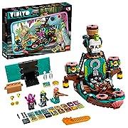 Das LEGO VIDIYO Set Punk Pirate Ship umfasst eine digitale Piratenschiff-Bühne, auf der Kinder mithilfe der AR App auftreten können Enthalten sind 3 Minifiguren mit Musikzubehör, 14 zufällige BeatBits und 3 spezielle BeatBits zum Scannen, um Videoeff...