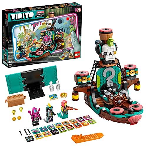LEGO 43114 VIDIYO Punk Pirate Ship Beatbox Music Video Maker, Jouet Musical et Application de Réalité Augmentée pour Enfants