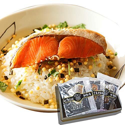 高級 お茶漬け ギフト 3食入り (鮭・炭火鶏・たらこ) 父の日ギフト