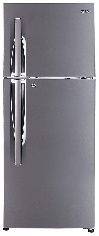 LG 260 L 3 Star Smart Inverter Frost Free Double Door Refrigerator (GL-I292RPZL, Shiny Steel, With Ice Beam Door Cooling)