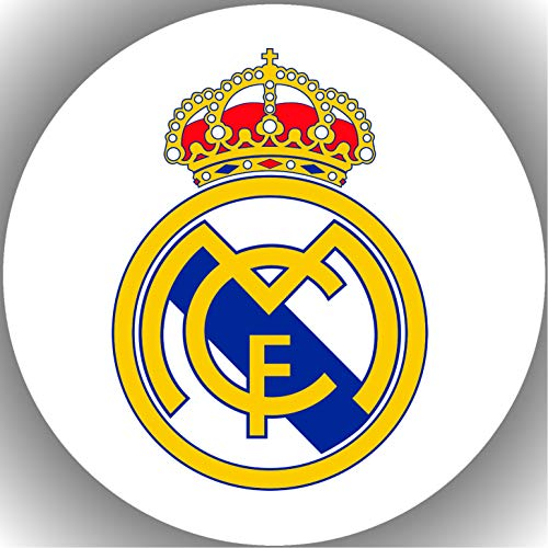 Fondant Tortenaufleger Tortenbild Geburtstag Fussball Real Madrid T11