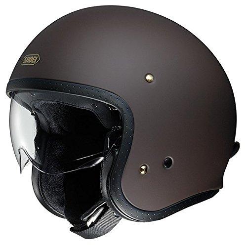 Shoei J.O. Jethelm Motorradhelm Scooter Helm Matt Braun XL (61-62cm)