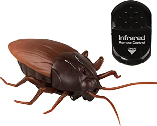 Remote Control Fake Cockroach RC Prank Toys Insects Joke Scary Trick Bugs for Party