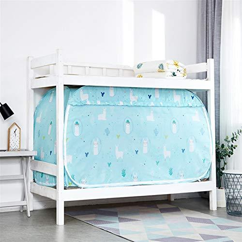 WWYYZ Cortinas para cama litera, cortinas de privacidad, transpirables, a prueba de polvo, opacas, sombreado, panel de tela para el hogar, dormitorio universitario