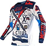 ZYYQSL Hombre Mountain Bike Motocross Manga Larga Jersey Camiseta Traje de Descenso al Aire Libre a Prueba de Viento Transpirable y Que Absorbe El Sudor Secado Rápido MTB Maillots
