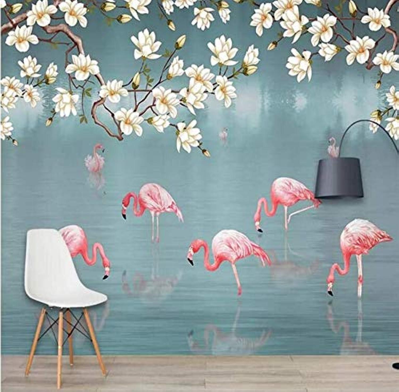 clásico atemporal Yssyss Yssyss Yssyss Dibujado A Mano Tropical Selva Flamingo Papel Tapiz Mural Decorativo Parojo-200(H)140(W) Cm  Ahorre hasta un 70% de descuento.