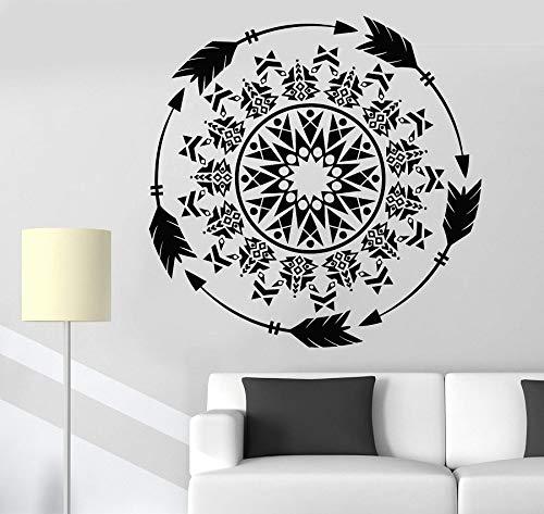 zhuziji Adesivi murali Luke Skywalker , Dreamcatcher Beautiful S Dream Keep Unique Vinyl PVC Waterproof Living Room Company School Office Mural63x63cm