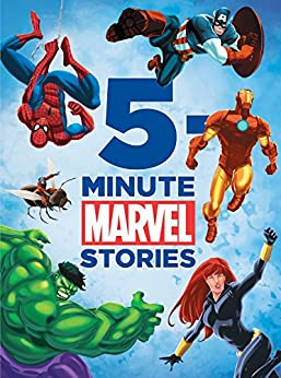 Marvel 5-Minute Stories (Marvel Storybook (eBook)) by [Marvel Press, DBG]