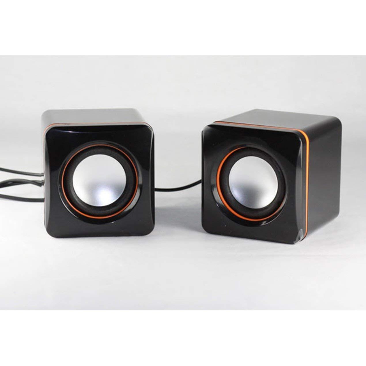 101C USB Caja de Altavoces para computadora portátil Sonido pequeño Sonido portátil: Amazon.es: Electrónica