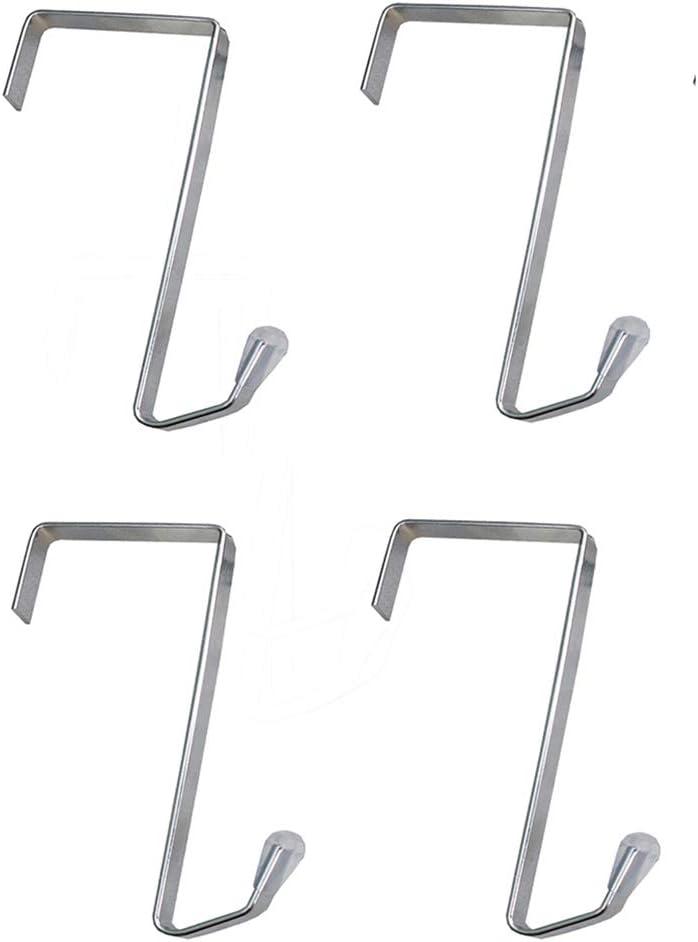 MISSLO 4 Packs Over Max Large special price !! 51% OFF The Hook Metal Door