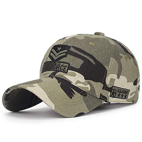 Gorras De Hombre Sombreros Cap Gorra Militar De Camuflaje para Hombre, Gorra De Béisbol para Hombre, Gorra Táctica, Gorra con Bordado, Camuflaje para Mujer