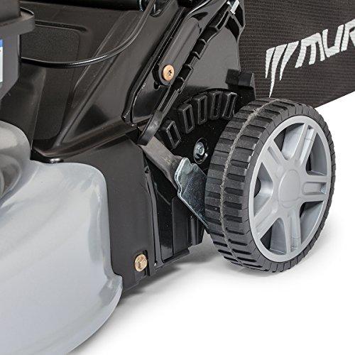 """Murray - Tagliaerba Semovente a Spinta da 46 cm/18"""" con Motore a Benzina Briggs & Stratton 450E Series, Grigio, EQ400"""