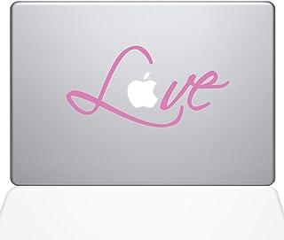 "The Decal Guru 1780-MAC-15X-BG Love's Signature Decal Vinyl Sticker, 15"" Macbook Pro (2016 & newer), Pink"