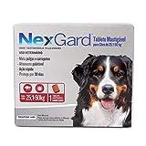 Nexgard 25 a 50 kg Antipulgas e Carrapatos Merial para Cães - 1 Unidade