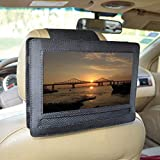Car Headrest Mount Holder for DBPOWER 9.5' Portable DVD Player with Swivel and Flip Screen and Fits Other 9-9.5' Swivel Screen Portable DVD Player - Black