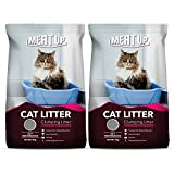 Meat Up Clumping Lavender Fragrance Cat Litter (Buy 1 Get 1 Free), 5kg