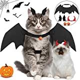 Legendog Cat Costume Halloween Bat Wings Pet Costumes Pet Apparel for Small Dogs and Cats (Bat Wings)