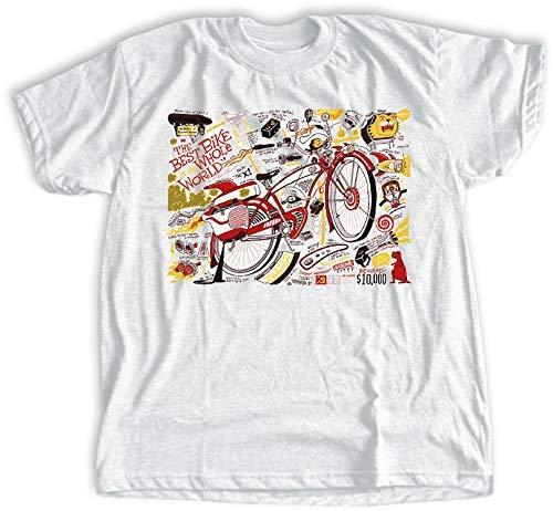 Best Bike T-shirt | Pee-wee's Big Adventure Shirt | Bicycle Schematic | Boys, Girls, Mens, Womens, Toddler Styles | Organic Nostalgia