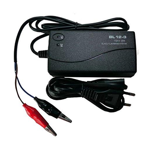 Ladegerät kompatibel Akku Batterie AGM Blei Gel Kalzium 12Volt 12V 3Ah - 36Ah