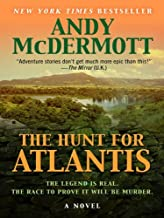 By Andy McDermott - The Hunt for Atlantis (Basic) (Large Print Edition) (2010-03-18) [Hardcover]