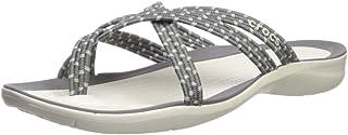 Crocs Women's Swiftwater Braided Web Flip