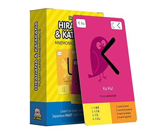 Dr. Moku Hiragana & Katakana Flashcards – Aprende japonés s Mnemonics