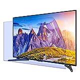 Película antirreflectante para TV de 42 a 75 pulgadas – Protector de pantalla de luz azul anti arañazos/película esmerilada para pantallas LCD, LED, 4K OLED y QLED HDTV, 70 pulgadas 1538 x 869