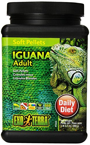 Exo Terra Soft Pellets Futter für junge Leguane 560 g