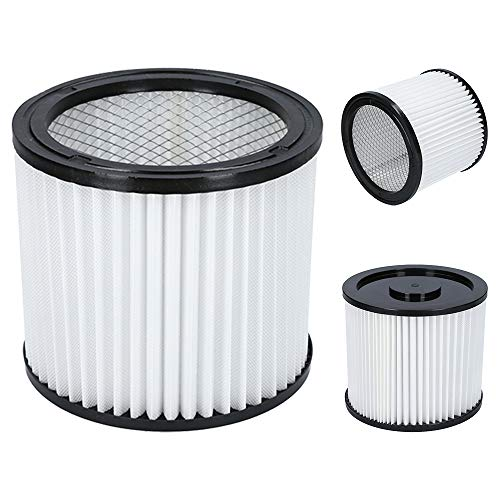 Kenekos 3 Lamellenfilter geeignet für Parkside Nass- & Trockensauger. Auch passend für Aquavac, AEG, Güde, Lavor, Metabo, Rowenta, Tarrington-House und Variolux Industriesauger