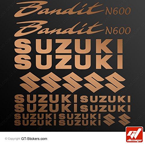 Aufkleber Suzuki Bandit N600–Kupfer–bandit-n600, Bandit N 600, Sticker, selbstklebend, Aufkleber, gt-design
