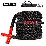 Zoom IMG-2 cclife battle ropes fune di
