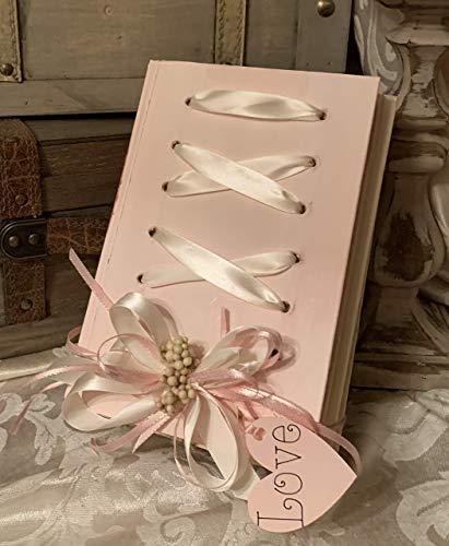 Live Love Laugh Decorative Books, Gold Silver Books for Display, Coffee Table Books, Designer Book Stack Decor