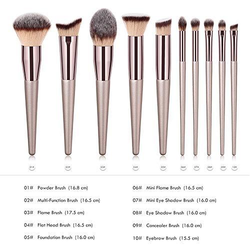 Pinceaux Kit Correcteur Base de cosmétiques Pinceaux poudre blush fard à paupières Pinceau à lèvres outil de beauté (Handle Color : Concealer Brush)