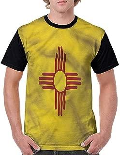 Fashion T-Shirt,Pixel Like Dots USA Flag Fashion Personality Customization