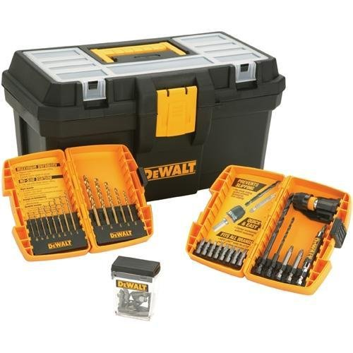 DEWALT DW1363TB 38 Piece Heavy Duty Drill & Drive Bit Set With Free Tool Box