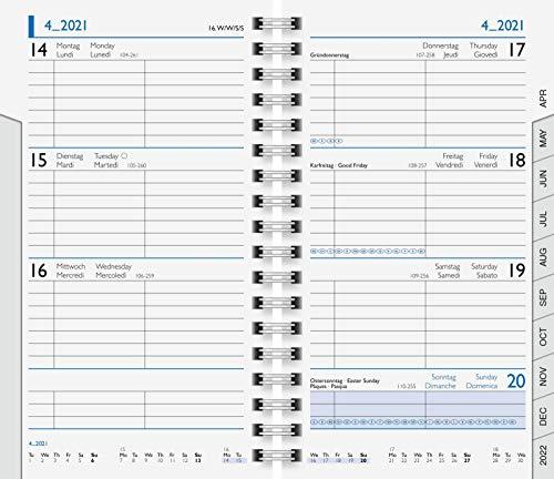 1075601 Ersatzkalendarium · Modell 756 · Blattgröße 8,7 x 15,3 cm · 144 Seiten