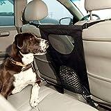 Barrière pour chien Mo Shuo - Barrière de voiture en maille - Tissu Oxford - Séparateur réglable...