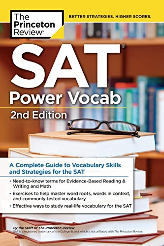 SAT Power Vocab, 2nd Edition: A Complete Guide to Vocabulary Skills and Strategies for the SAT (Coll