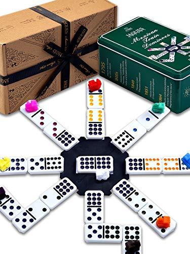 Jaques Von London - Domino Zug dominosteine – Qualität Domino Spiel seit 1795