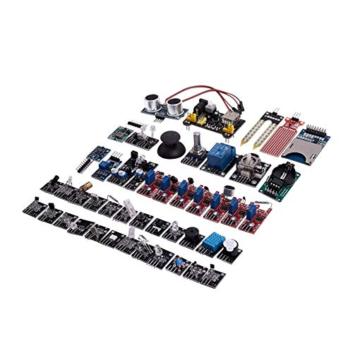 NB YULUBAIHUO 45Pcs/Set Sensor Module Board Fit For Raspberry Pi Education DIY's Updated Sensor Module Starter Kit