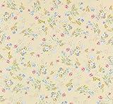 Melody Jane Casa de Muñecas Miniatura Impresión 1:12 Escala Rococo Seda Maíz Pintado